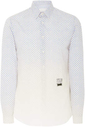 Prada Degrade Cotton Dress Shirt