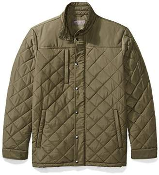The Plus Project Men's Plus Size Water Resistant Quilted Barn Jacket 2X-Large