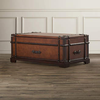 Three Posts Bouldin Coffee Table Trunk with Lift Top