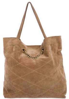 Lanvin Suede Carry Me Tote
