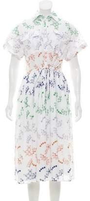 Novis The Huntington Midi Eyelet Dress w/ Tags