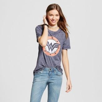 Wonder Woman Women's Wonder Woman® Graphic Tee Navy (Juniors') $12.99 thestylecure.com