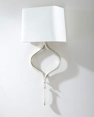 Regina-Andrew Design Regina Andrew Design Duchess Gold Leaf Sconce