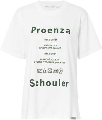 Proenza Schouler Pswl Care Label Graphic Tee