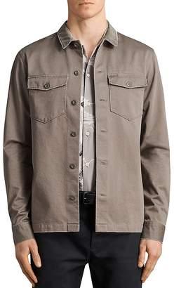 AllSaints Tactical Regular Fit Button-Down Shirt