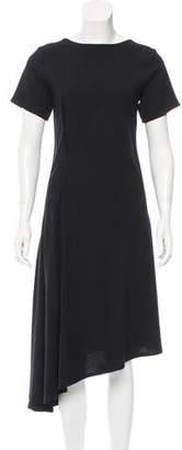 Ann Demeulemeester Asymmetrical Midi Dress