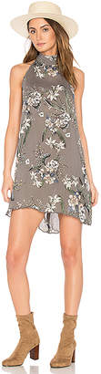 Cleobella Biya Short Dress in Gray $169 thestylecure.com