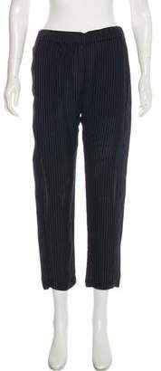 Theory Silk Mid-Rise Pants