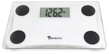 Detecto® Glass LCD Digital Scale