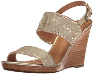 Jack Rogers Women's Vanessa Stacked Wedge Sandal
