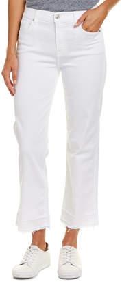 7 For All Mankind Seven 7 Kiki Luxe White Straight Leg