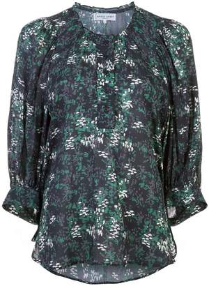 Apiece Apart floral shift blouse
