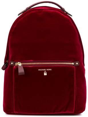 MICHAEL Michael Kors large velvet backpack