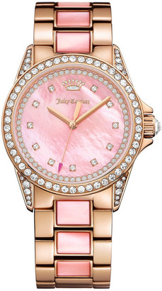 Juicy Couture Women's Charlotte Crystal Bracelet Watch $395 thestylecure.com