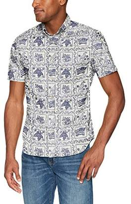 Reyn Spooner Men's Lahaina Sailor Kloth Tailored Fit Hawaiian Shirt
