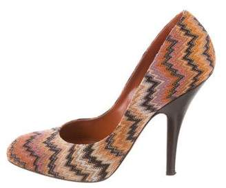 Missoni Chevron High-Heel Pumps