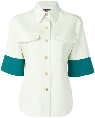 Calvin Klein panelled shirt