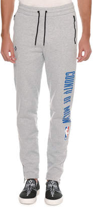 Marcelo Burlon County of Milan Men's NBA Tapered-Leg Sweatpants
