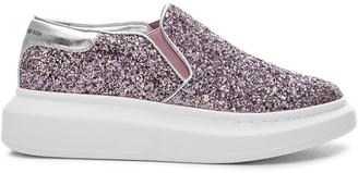 Alexander McQueen Platform Slide Sneakers $575 thestylecure.com