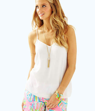 Lilly Pulitzer Womens Dusk Racer Back Tank Top