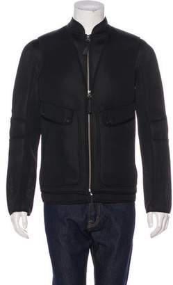Helmut Lang Perforated Vest-Overlay Jacket w/ Tags