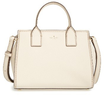 Kate Spade Kate Spade New York Dunne Lane Small Lake Leather Satchel - Ivory