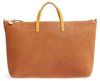 Clare Vivier Perforated Leather Tote