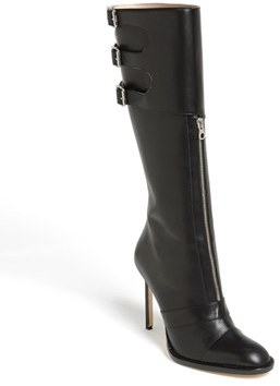 Manolo Blahnik Tall Leather Boot