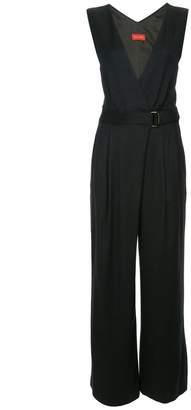 TOMORROWLAND v-neck wide leg jumpsuit