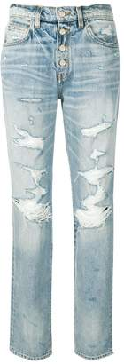 Amiri distressed boyfriend jeans