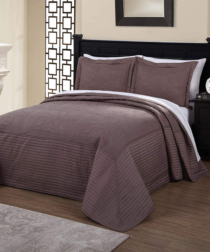Taupe French Tile Quilt