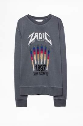Zadig & Voltaire Steeve Overdyed Sweatshirt
