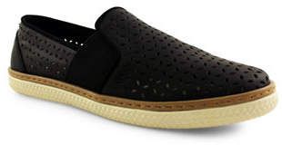 ROYAL CANADIAN Jasper Lazer Perforated Slip-On Flats