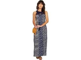 Lucky Brand Macrame Yoke Dress Women's Dress