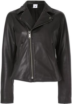 Puma Maison Yasuhiro classic leather jacket