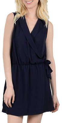 Molly Bracken Sleeveless Wrap-Front Dress