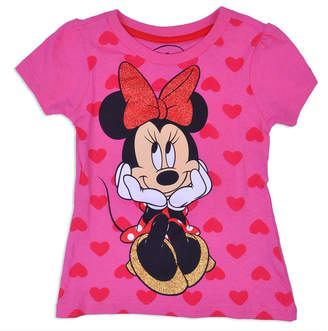 DISNEY MINNIE MOUSE Disney Minnie Mouse Graphic T-Shirt-Toddler Girls