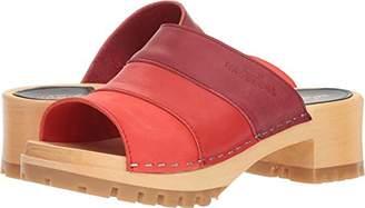 Swedish Hasbeens Women's Mona Heeled Sandal 40 Regular EU (40-10 US)