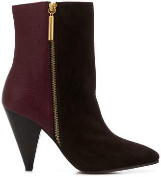 Stuart Weitzman panelled ankle boots
