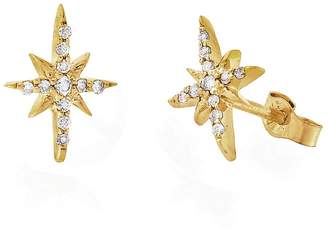 Celine Daoust North Star Diamond Stud Earrings