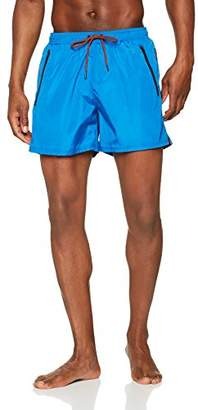 BOSS Men's Thornfish Short, (Medium Blue 421), Large