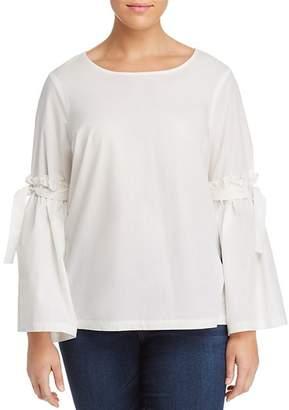 Junarose Plus Vayana Bell-Sleeve Top