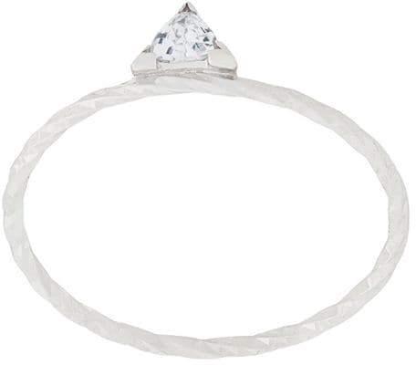 Maria Black Diamond Cut Viper ring