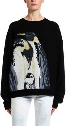 Alanui Penguins Intarsia Sweater