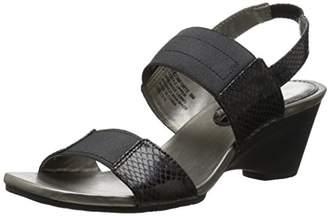 Bandolino Women's Comforte Fabric Wedge Sandal $28.02 thestylecure.com