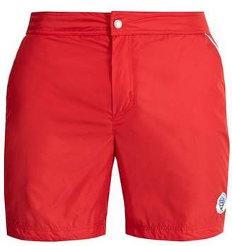 Robinson Les Bains - Oxford Long Swim Shorts - Mens - Red