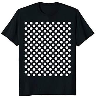 White Polka Dot Shirt T-Shirt