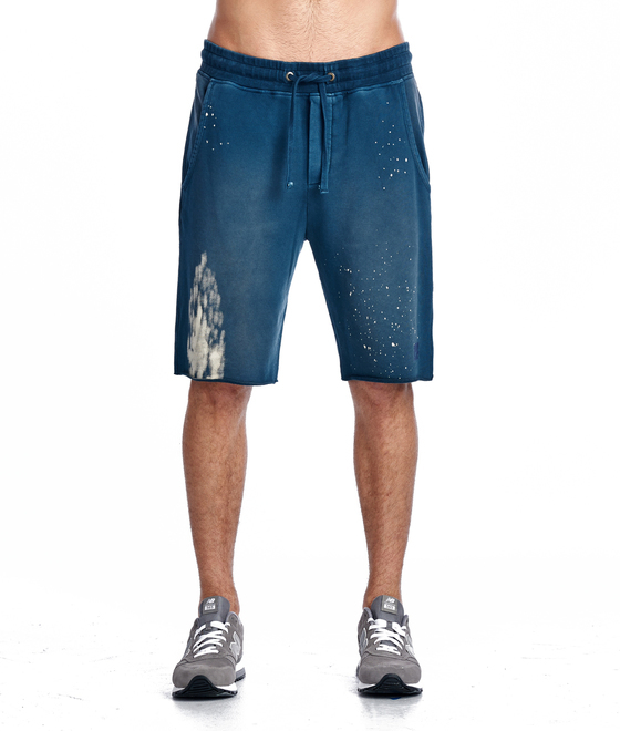 Cult of Individuality Sweat Shorts In Dust Blue