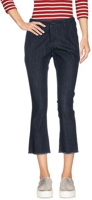 Larose LA ROSE Denim capris - Item 42656209TE