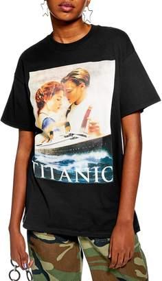 Topshop Titanic Poster Tee